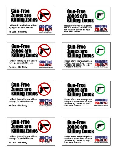 GunFreeZones Cards 8up Small