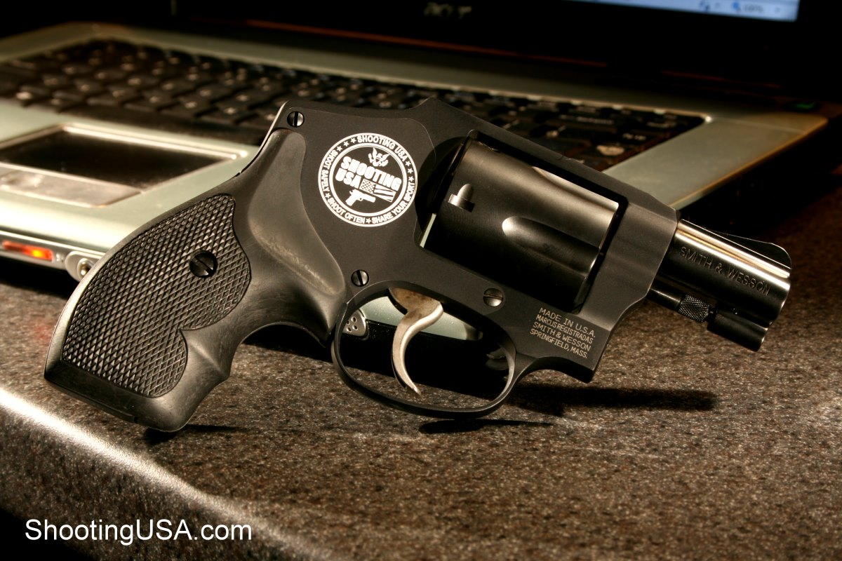 38/.357 : Smith & Wesson Mod. 442 .38 Special + P