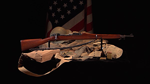 Shooting USA 1903 Springfield service rifle